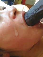 Singaporean chick sucks cock and jizzed on
