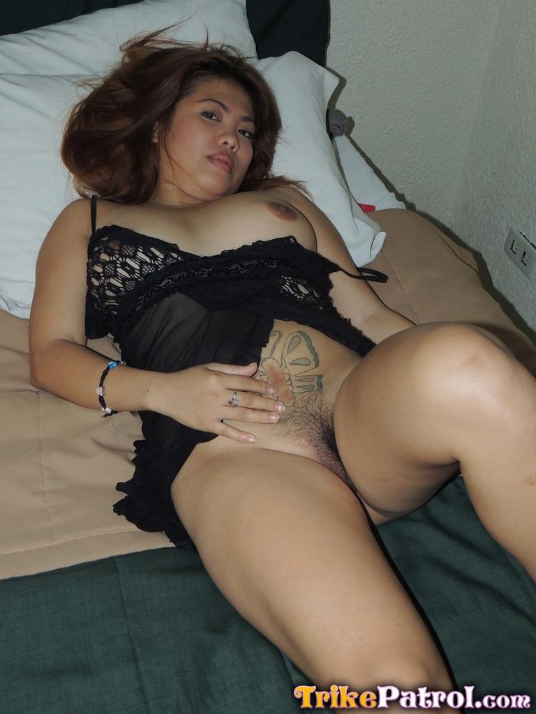Volleyball asian girl gets massage