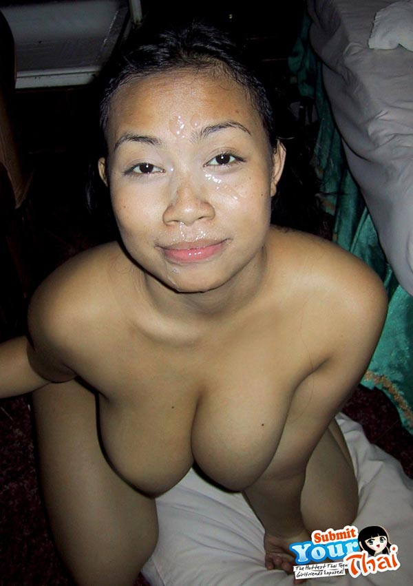 Asians blasted with cum facials japanese 9